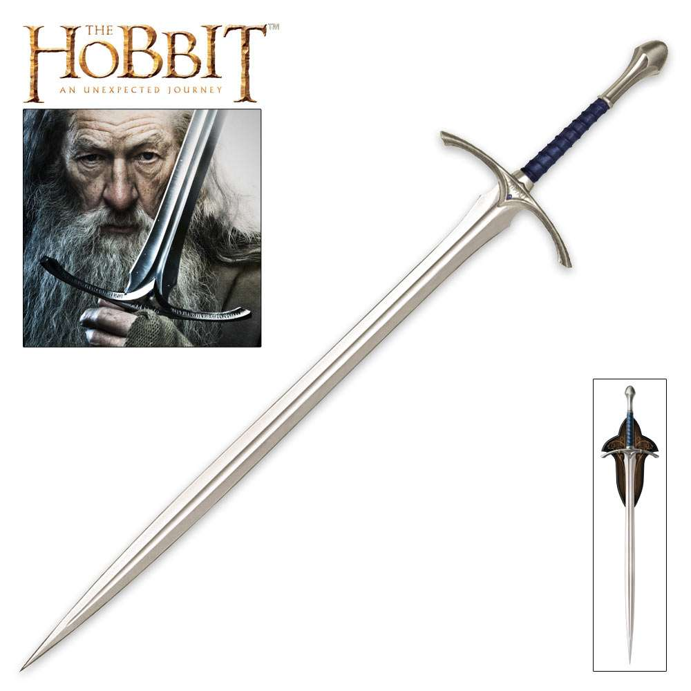 The Lord of the Rings Hobbit  Gandalf Sword Blade Dagger cosplay metal weapon prop