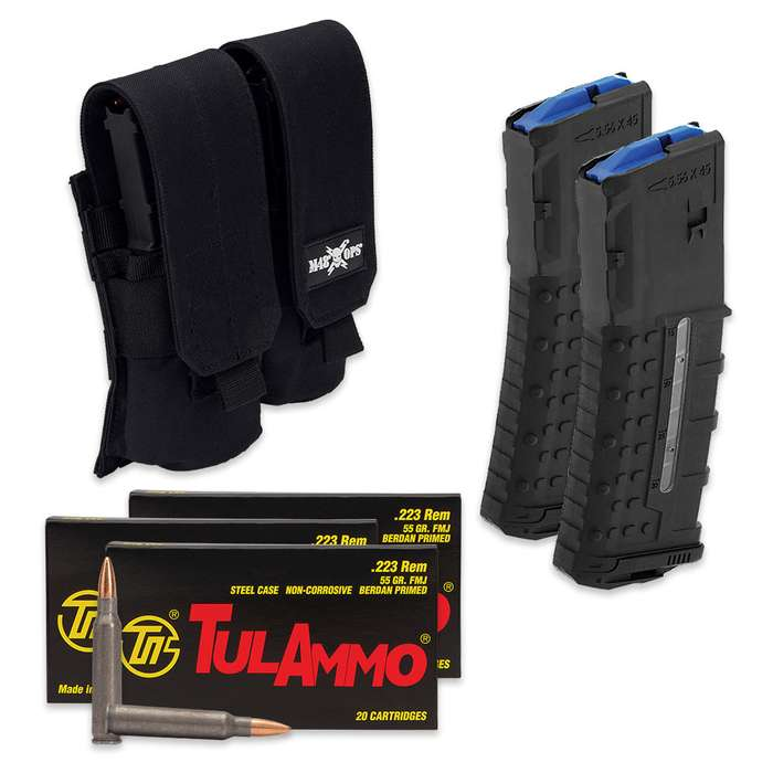 The AR-15 Shooter's Kit makes a great addition to your range gear, giving you lots of value for your money
