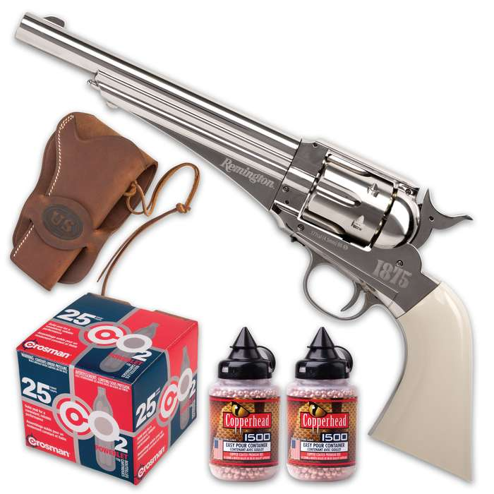 Practice your quick-draw skills with our all-inclusive Gunslinger Plinkers Kit and you'll be ready for any show-down