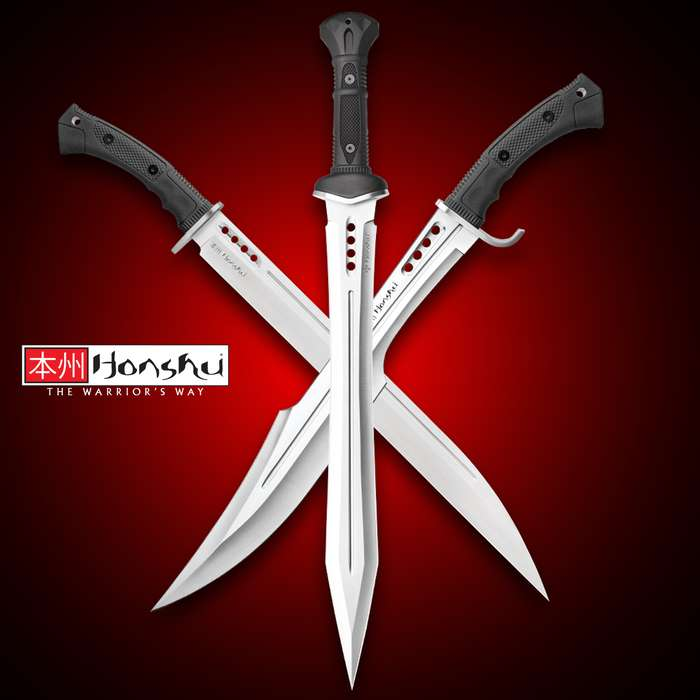 There is no better fusion of traditional ideals with modern innovation than the Honshu Combat Sword Collector's Kit