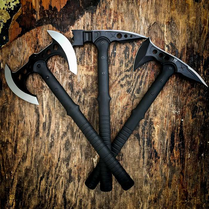 M48 Tactical Trio Tomahawk Axe War Hammer Set