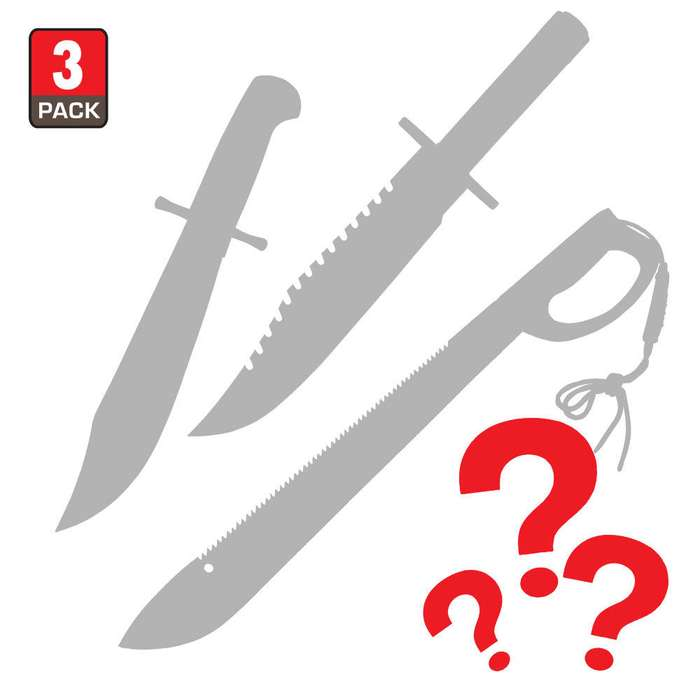 Mystery Deal - Bowie Knives and Machetes