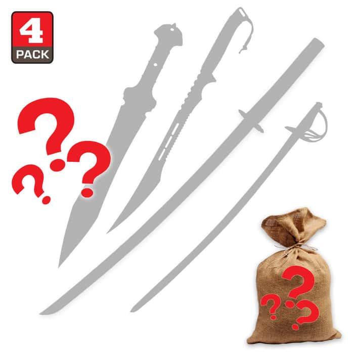 Mystery Deal -Swords - Set of 4