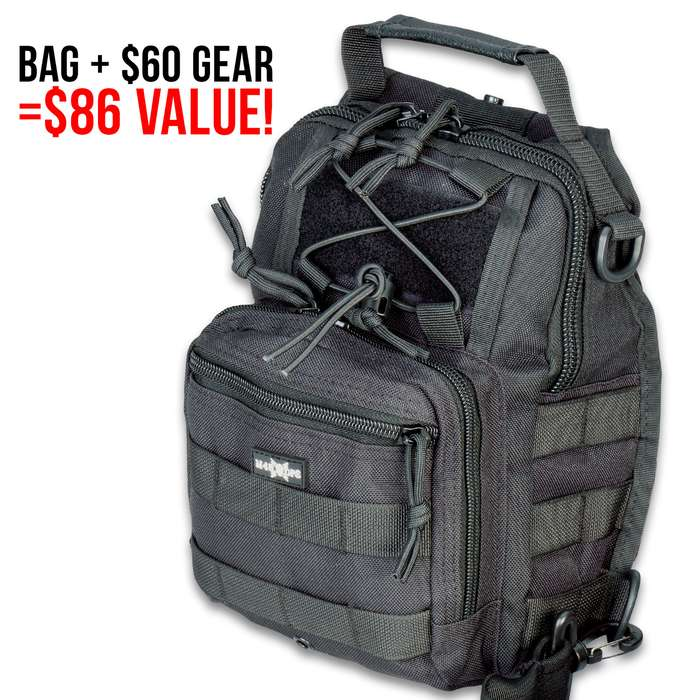SHTF Mystery Pack - Variety Of Survival Gear, $86 Value, Brand New Items, Great Gift Idea