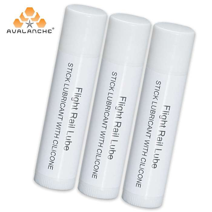 3 Pack Rail Lube Wax