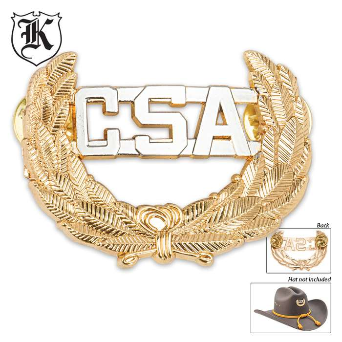 Gold CSA Hat Pin