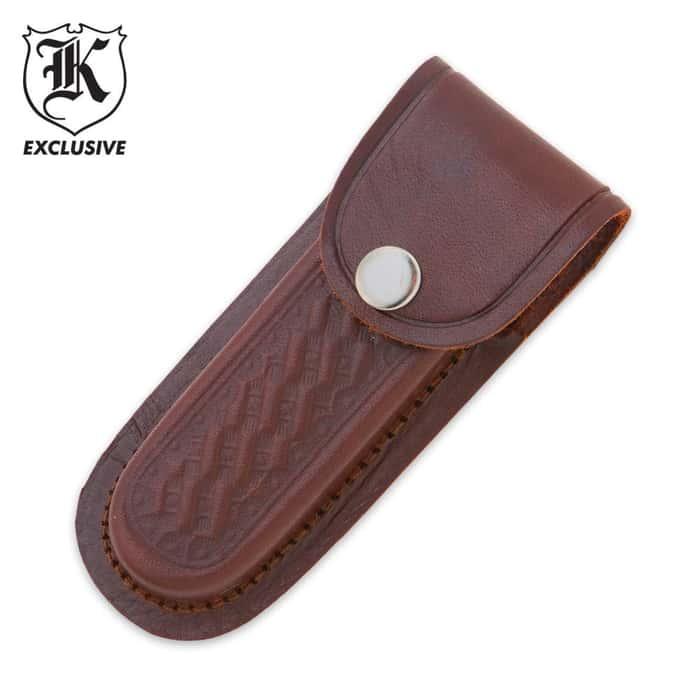 Leather 5 Inch Knife Sheath