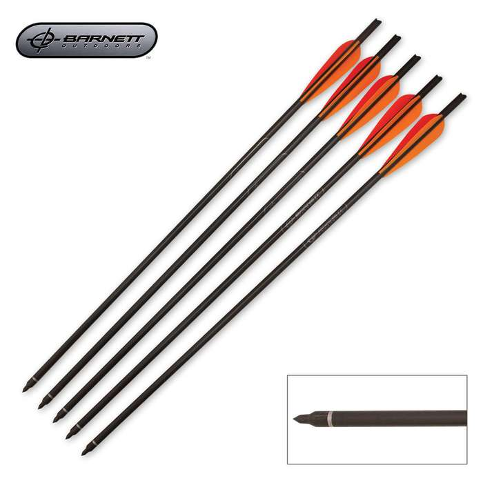 Barnett Crossbows 20 Inch Headhunter Arrows 5 Count