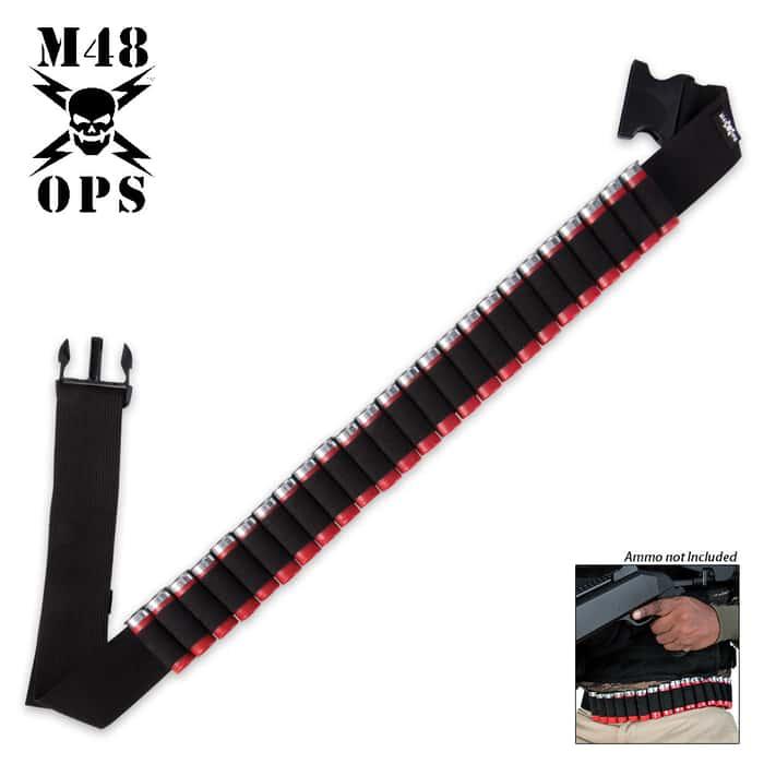 M48 Ops Shotgun Shell Belt