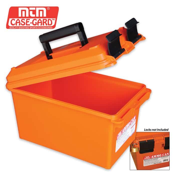 Ammo Can For Bulk Ammo - Orange