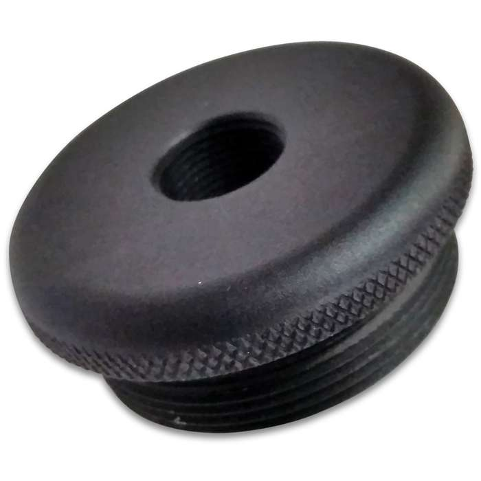 Made in the USA, the King Cobra 1/2 X 28 Adapter is slightly larger and specifically made for King Cobra tubes