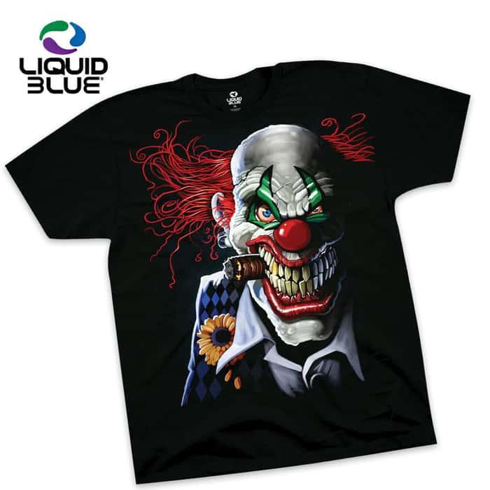 Joker Clown Short Sleeve T-Shirt
