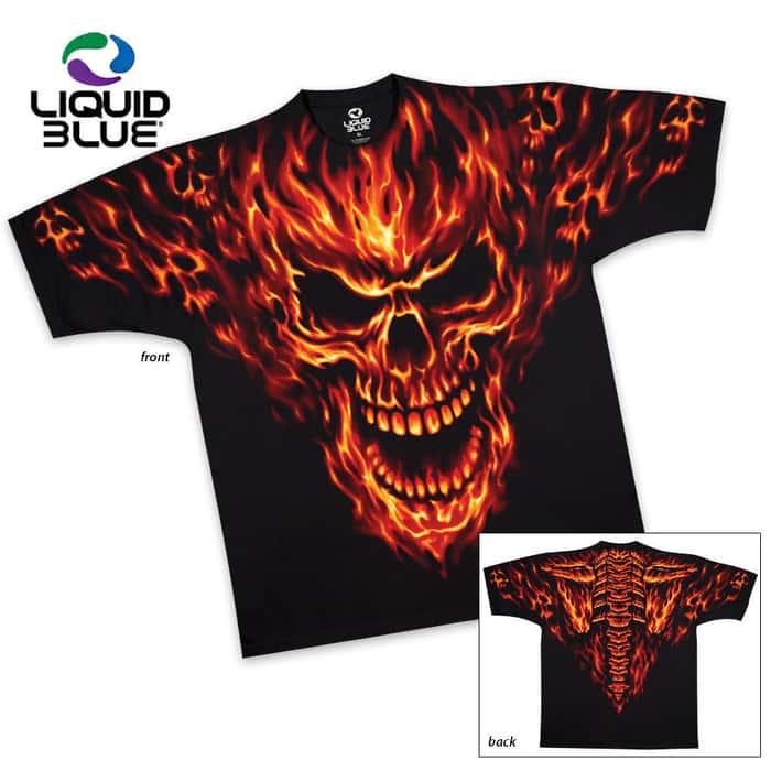 Raging Inferno Shirt Sleeve T-Shirt