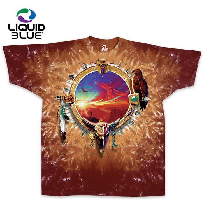 Canyon Sunset Tie-Dye T-Shirt