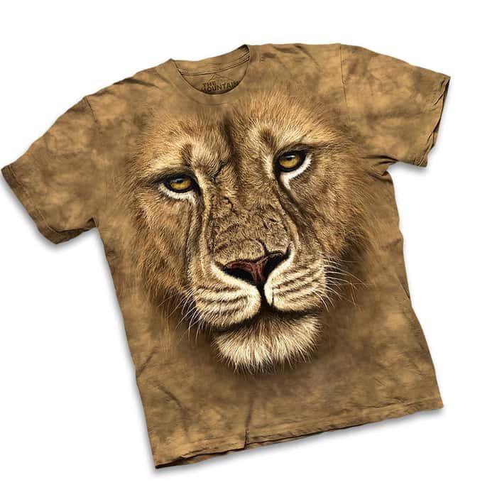 Lion Warrior Short Sleeve Shirt