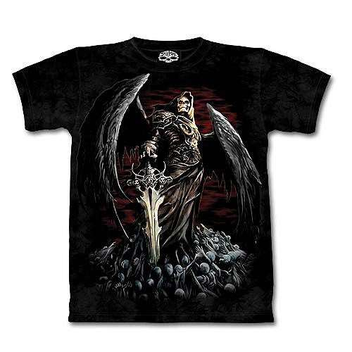 Skull Death Short Sleeve Shirt