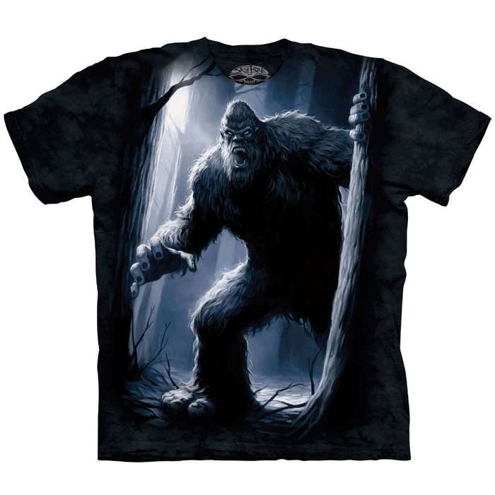 Sasquatch Short Sleeve Shirt