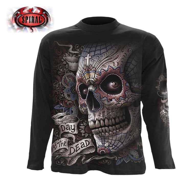 El Muerto Black Long-Sleeve T-Shirt