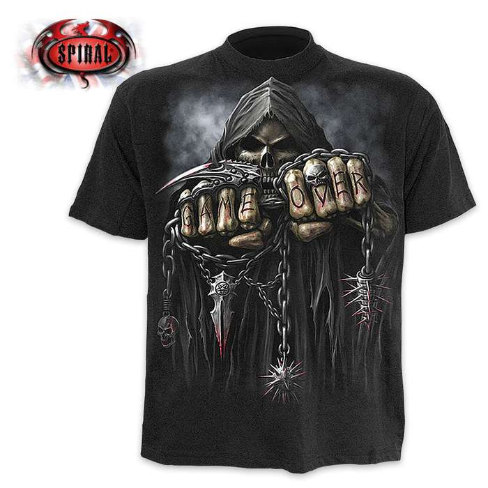 Game Over Black T-Shirt