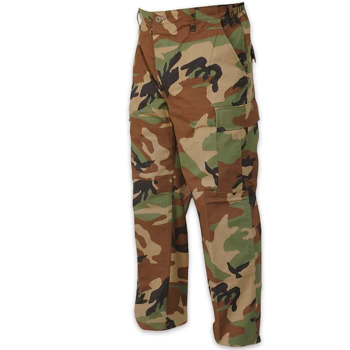 ROTHCO Basic BDU Uniform Pant - Woodland Camo