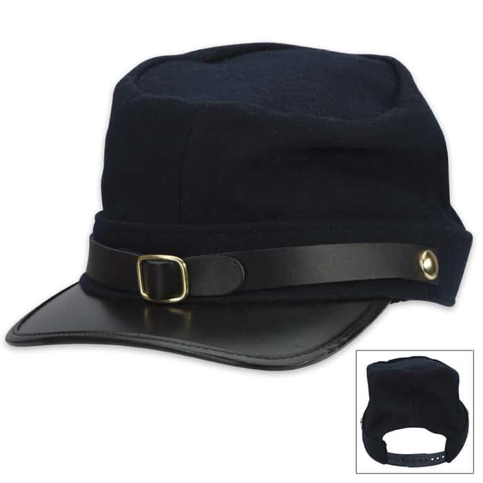 Civil War Union Soldiers Blue Kepi Hat Reenactor Costume