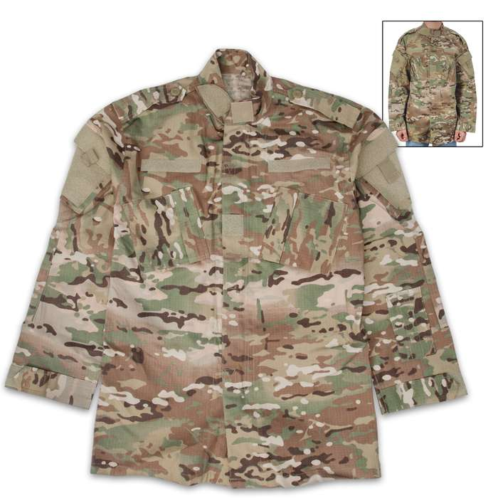 Our ACU Long-Sleeve Top is built for the harshest conditions, making it a must-have to your hunting, tactical or survival gear