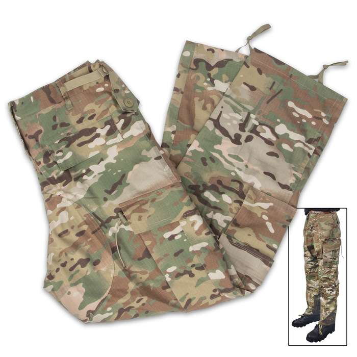 Our ACU Pants are built for the harshest conditions, making it a must-have to your hunting, tactical or survival gear