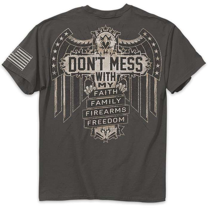 Dont Mess With My Charcoal Range T-Shirt