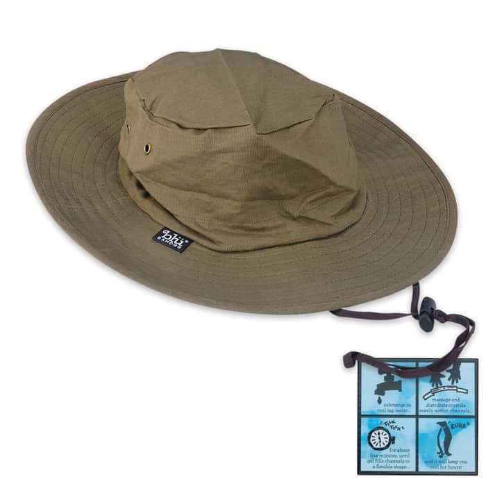 Moss Safari Boonie Unisex Cooling Hat