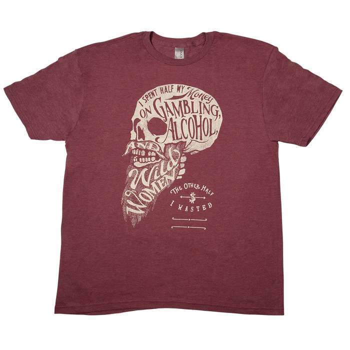 The Other Half Burgundy T-Shirt
