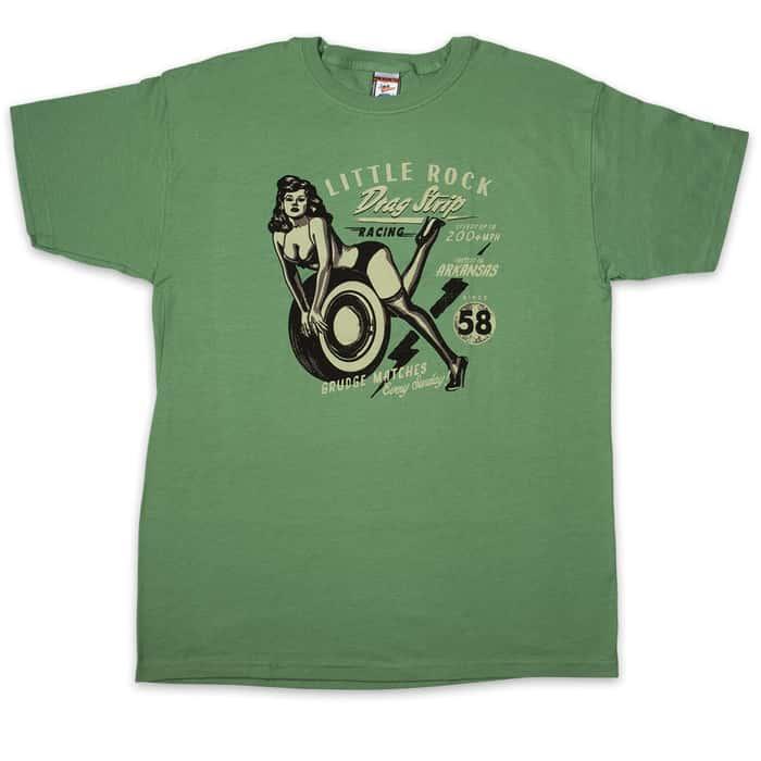 Hot Wheels Lime Green T-Shirt