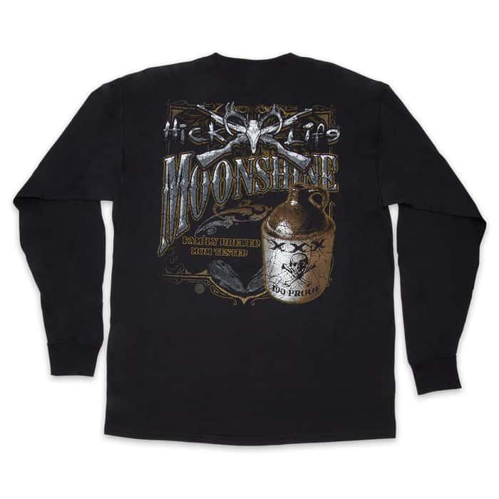 Hick Moonshine T-Shirt - Long-Sleeve