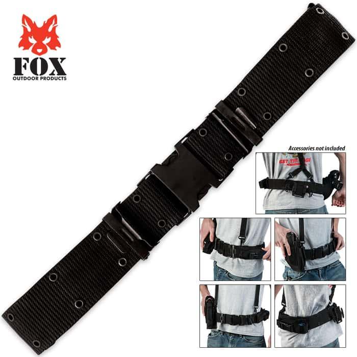 Fox Pistol Belt