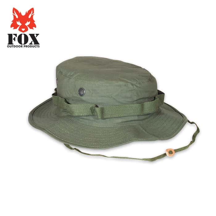Fox Rip Stip Boonie Hat Olive Drab
