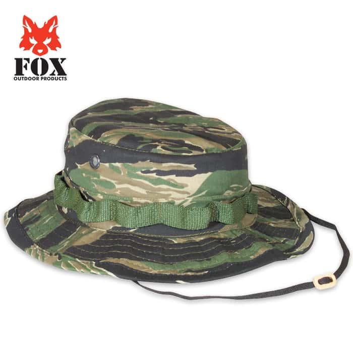 Fox Rip Stop Boonie Hat Tiger Stripe