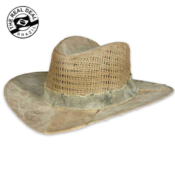Real Deal Brazil Brisa Ventilated Tarp Hat