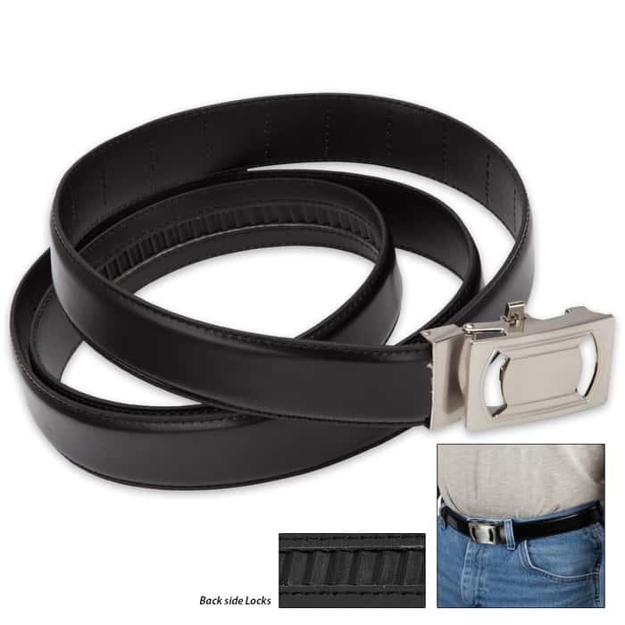 IdeaWorks One Size Fits All / Custom Fit Belt - Black