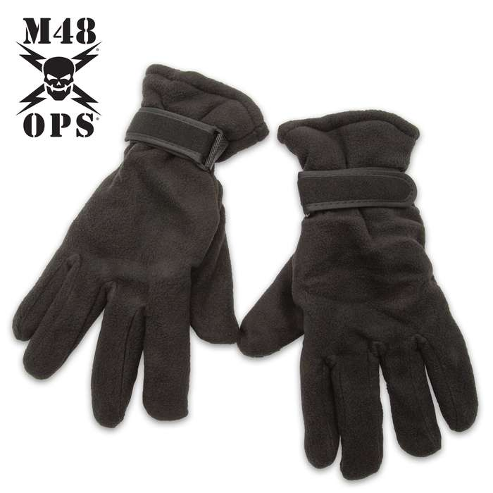 Our M48 Polar Fleece Gloves are perfect for the coldest weather conditions, especially, when you're doing outside tasks