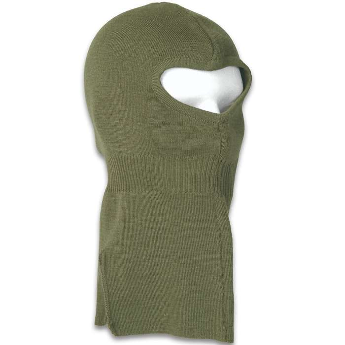 Protect your ears, face and neck during those frigid winter months with this military-style cold weather face mask