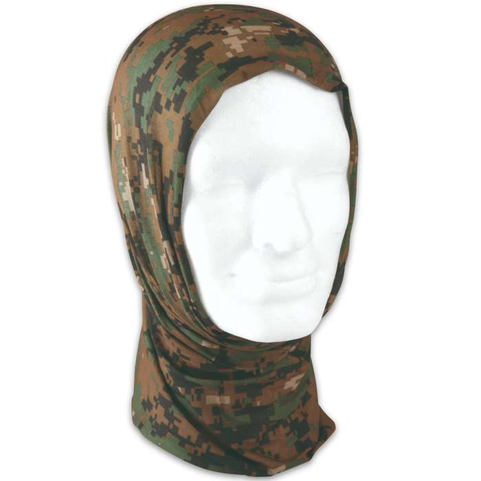 May look like ordinary piece of fabric, but this headgear is a multifunctional outdoor essential that boasts a ton of uses
