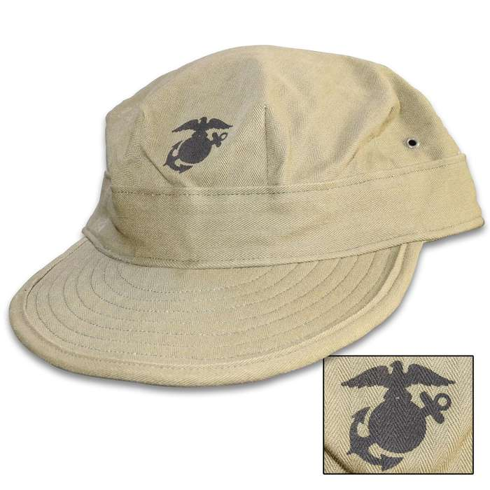 The reproduction field cap is a great addition to your military collection, your hunting gear or just as an everyday wear item
