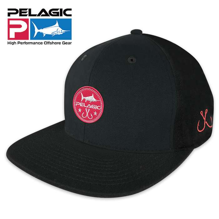 Pelagic Circle Patch Snapback Cap - Hat