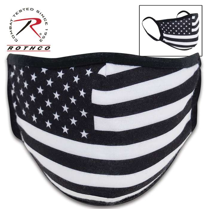 The face cover features a soft and stretchy, three-layer polyester construction that conforms to the shape of your face