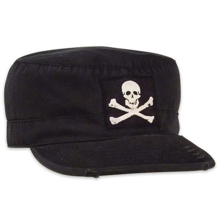 Vintage Fatigue Jolly Roger Cap