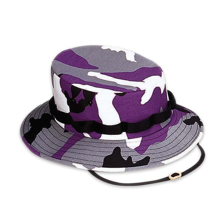 Boonie Hat Ultra Violet Camo