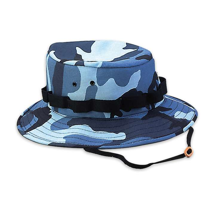 Boonie Hat Sky Blue Camo