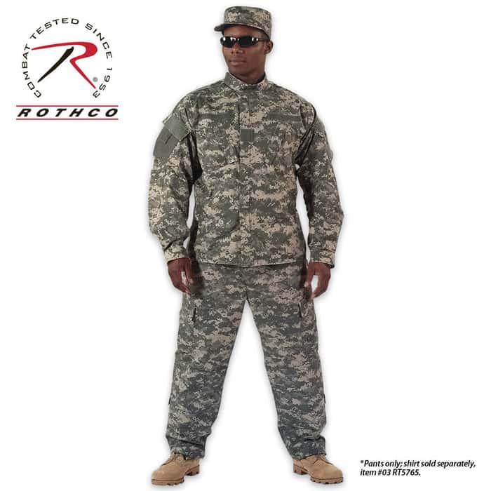 Rothco ACU Combat Uniform Pants