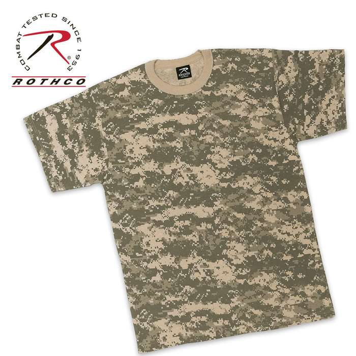 Rothco ACU Digital Camo T Shirt