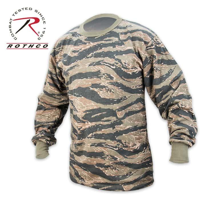 Tiger Stripe Long Sleeve T-Shirt