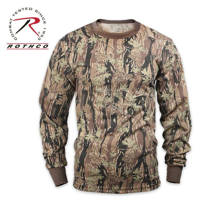 Rothco Long Sleeve T Shirt Smokey Branch